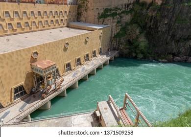 Downstream of Dukan Dam (Sulaymaniyah, Iraq)