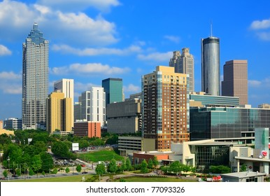 Downtown Atlanta, Georgia, skyline