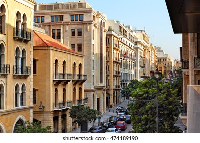 Downtown Beirut, the souks on Allenby Street