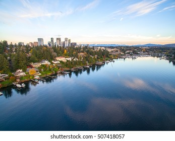 Downtown Bellevue Washington View