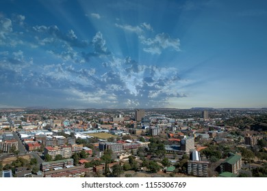 Downtown Bloemfontein, South Africa.