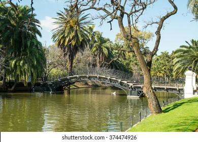 Im Stadtzentrum von Buenos Aires im Stadtteil Palermo, bekannt als Palermo Woods