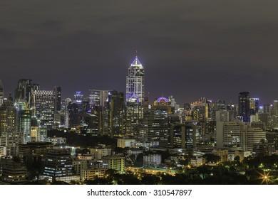 downtown building  in Bangkok, Thailand