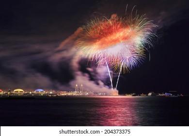 Downtown Chicago - Navy Pier fireworks