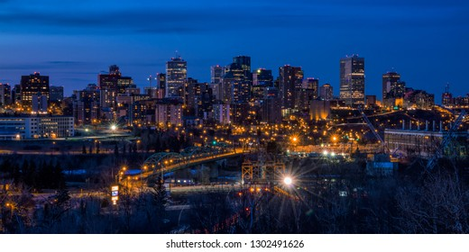 Downtown Edmonton Night