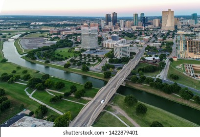 Downtown Fort Worth Aerial View