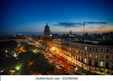 Downtown Havana at Night