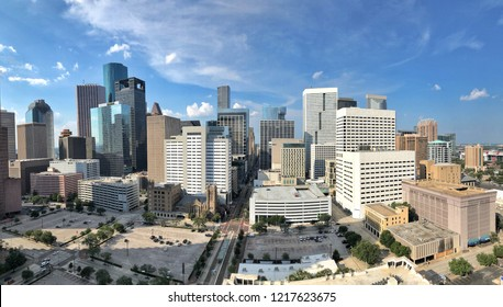 Downtown Houston from the 35th floor