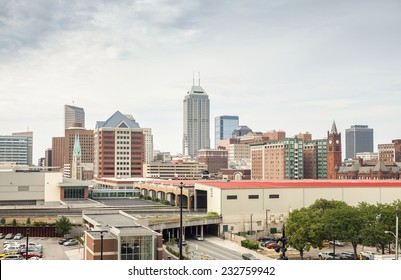 Downtown of Indianapolis city, Indiana, USA