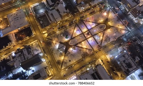 Downtown Kalamazoo Michigan