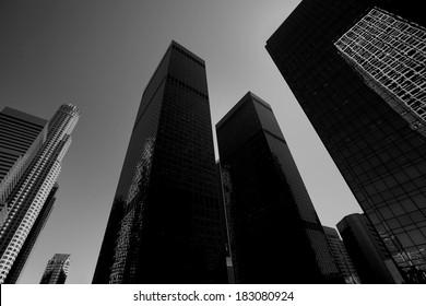 Downtown LA Los Angeles skyline California cityscape
