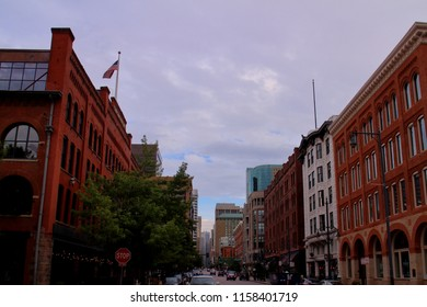 Downtown Landscape of Denver, Colorado, USA