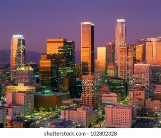 Downtown Los Angeles Skyline, California