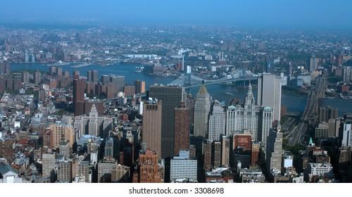 Downtown Manhattan - New York city - United states of America