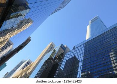 Downtown Manhattan New York Sky Scrapers