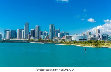 Downtown of Miami, Florida, USA