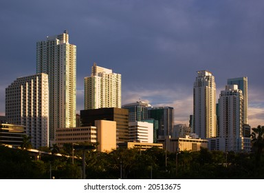 Downtown Miami Residential and Office Buildings