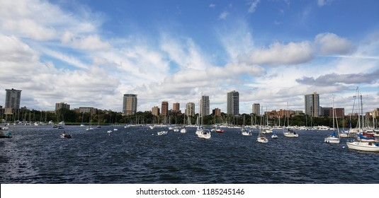 downtown Milwaukee sail boats