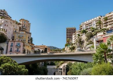 Downtown of Monaco