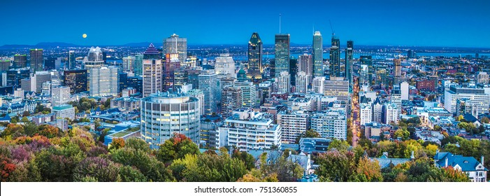 Downtown Montreal, QC. Canada.