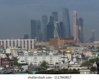 Downtown in moscow