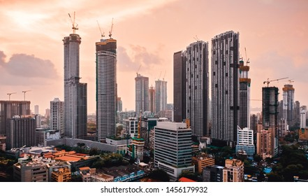 Downtown Mumbai developments-r skyscraper cluster