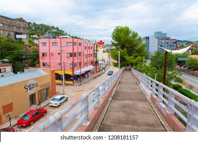 Downtown Nogales, Sonora State, Mexico, 08-22-2018