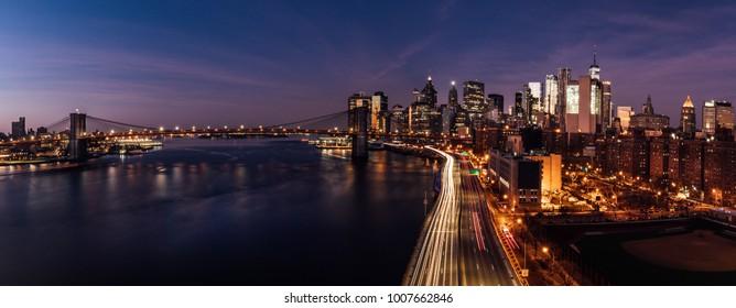 Downtown NYC Panoramic