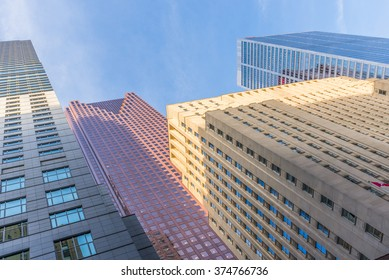 Downtown office towers in Toronto Canada.