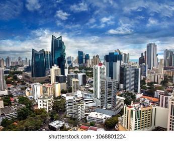 Downtown Panama City Skyscrapers, Panama.