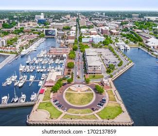Downtown Pensacola, Florida. Palafox Street
