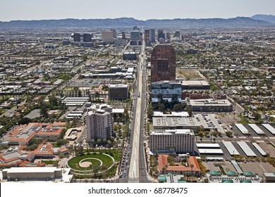 Downtown Phoenix, AZ Skyline