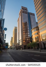 Downtown Phoenix is the central business district of the City of Phoenix, Arizona, United States. It is located in the heart of the Phoenix metropolitan area or Valley of the Sun.