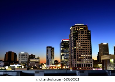 Downtown Phoenix at Dusk