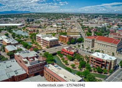 Downtown Pueblo, Colorado during Summer