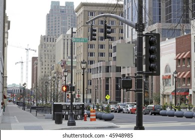 Downtown of Raleigh