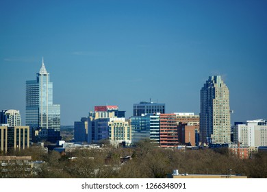 Downtown Raleigh, North Carolina Metro Skyline