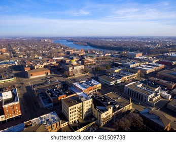 Downtown Saint Cloud, Minnesota USA