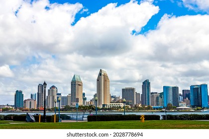 Downtown San Diego skyline in California, United States of America.