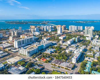 Downtown Sarasota City Florida Skyline