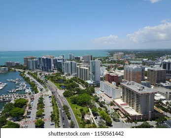 Downtown Sarasota, Florida Skyline