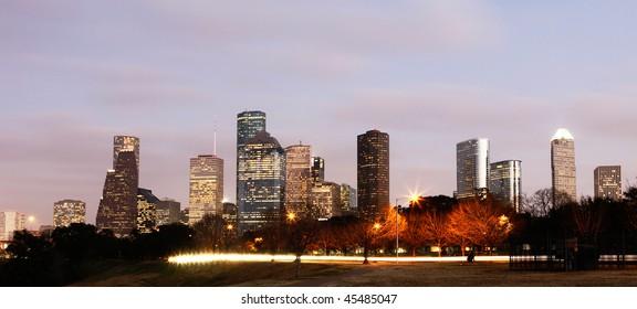 Downtown Skyline, Houston, Texas