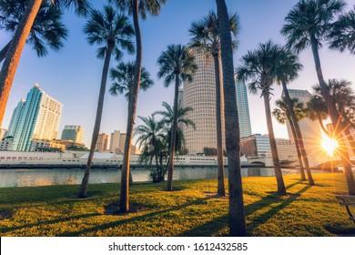 Downtown of Tampa. Tampa, Florida, USA.