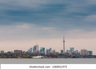 Downtown Toronto on a cloudy day 01