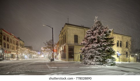 Downtown Traverse Michigan