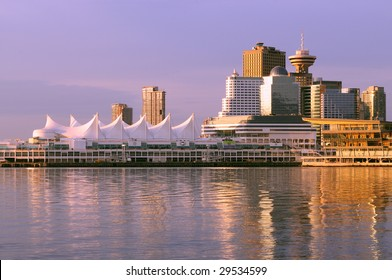 Downtown Vancouver at Sunrise