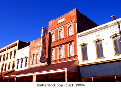 Downtown Vicksburg Mississippi, USA, October 18, 1996