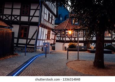 Downtown Wernigerode Summer Evening