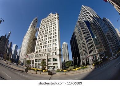 Downtown,Chicago,Illinois.