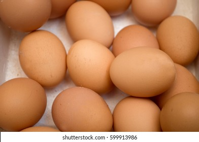 Dozens of eggs in a carton, Novi Sad, Serbia